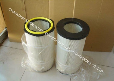 Pleated Air Filter Cartridge Chemicals Resistance For Casting And Blasting Dust Removal
