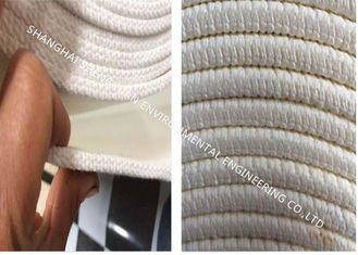 Polyester Filament Air Slide Fabric 4 Ply Solid Weave