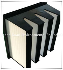 V Bank HEPA Pleated Air filter