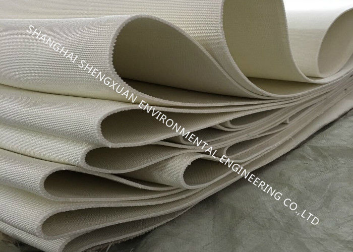 Industrial  Wear - Resisting Air Slide Cloth , 4-6 mm Thickness Belting Fabric