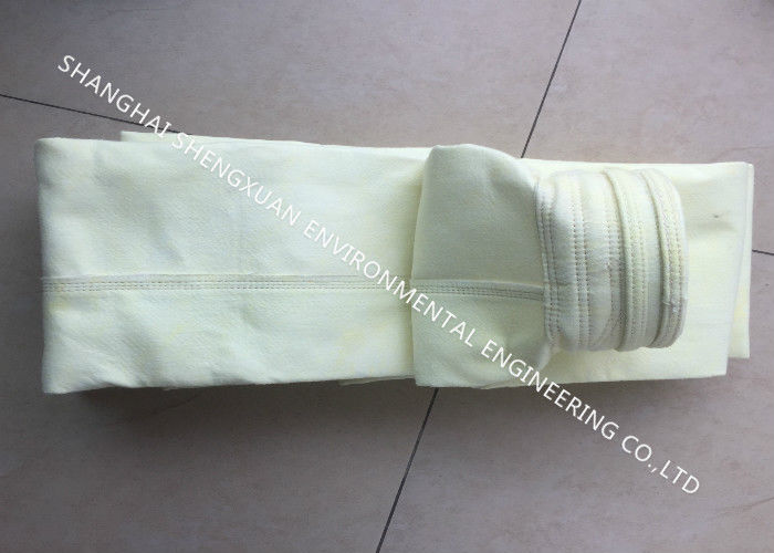 Acid Alkali Resistant Dust Collector Filter Bags FMS 9803 For Iron Making Plant